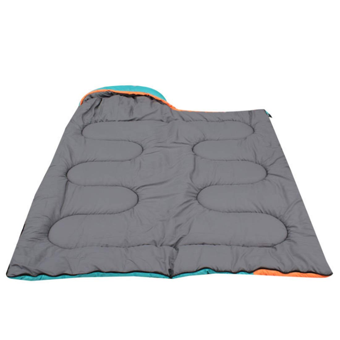 Shiduoli Erwachsene Schlafsack für kalt und warm ob Reisen Camping, Wandern, Reisen ob (Farbe   Orange Blau) f61ba5