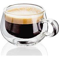 Double glass Pyrex Coffee Mug 100ML