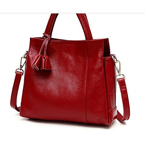 Women's Gmyan Red Bags Dark Black Zipper Blue Bag Shoulder HqZqnOrwdF