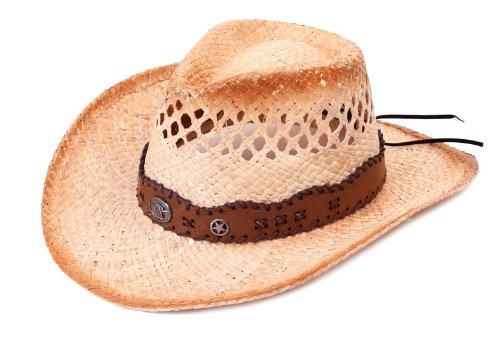 Simplicity New Shapable Straw Western Hat elastic sweatband