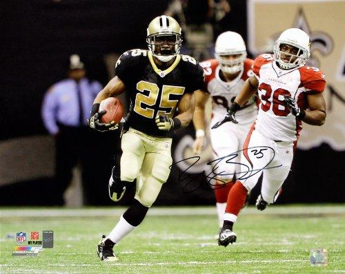 Reggie Bush Signed Autographed New Orleans Saints Black Jersey 16x20 Photo TRISTAR COA