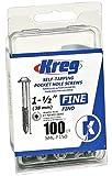 "Kreg Pocket-Hole #7 Screw x 1-1/2"" Fine (100)"