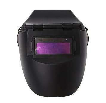 Autooscurecimiento casco soldador máscara lentes solares capucha para soldar: Amazon.es: Bricolaje y herramientas