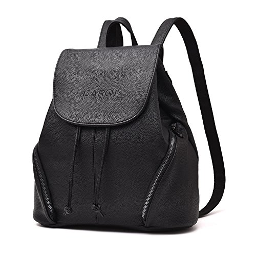Own Petite Purse - CARQI Leather School Backpack Waterproof Casual Daypack, 13
