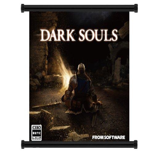 Dark Souls Game Fabric Wall Scroll Poster