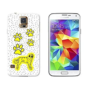 New Style Anatolian Shepherd Dog of Magnificence - Snap On Hard Protective Case for Samsung Galaxy S5 - White