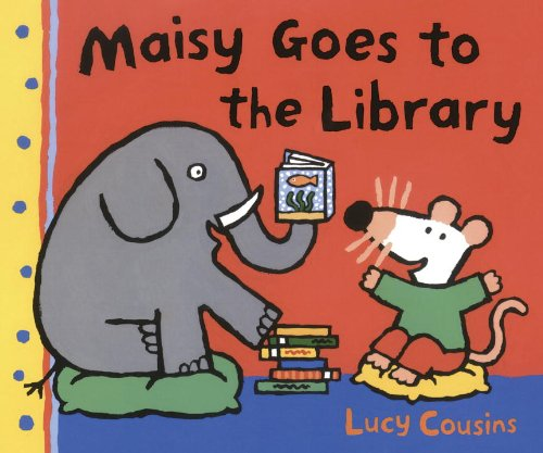 Maisy Goes To The Library (Turtleback School & Library Binding Edition) (Maisy First Experiences Book)
