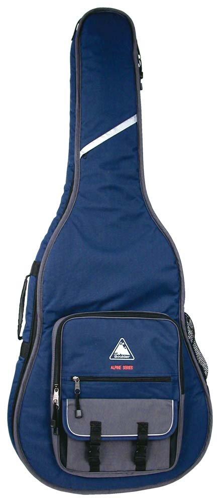 Boulder CB-360BL Alpine Deluxe Acoustic Guitar Gig Bag - Navy Blue