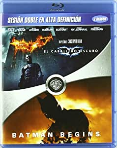 Caballero Oscuro + Batman Begins [Blu-ray]