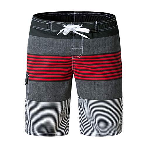 Simayixx Mens Swimwear Swim Trunks Beach Board Shorts Swimming Pants Swimsuits Shorts Sky Blue Trousers Sport -