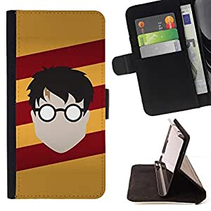 Momo Phone Case / Flip Funda de Cuero Case Cover - Harry Nutria;;;;;;;; - HTC One M8