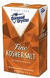 Diamond Crystal Fine Kosher Salt 4 Pound -- 12 per case.
