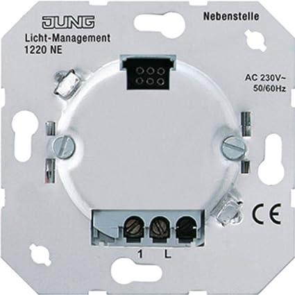 JUNG 1220 NE Metálico interruptor eléctrico - Accesorio cuchillo eléctrico (50/60, Metálico