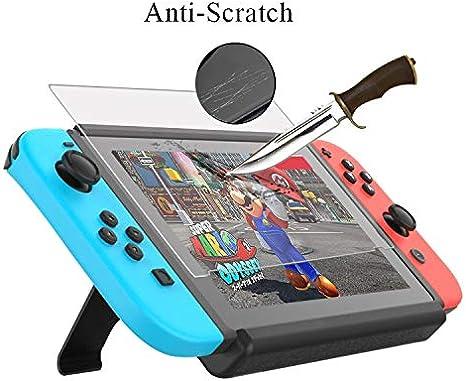 Protector de cristal vidrio templado para Nintendo Switch 6.2 inch ...