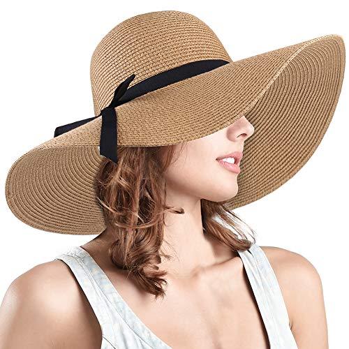 FURTALK Women Wide Brim Sun Hat ...