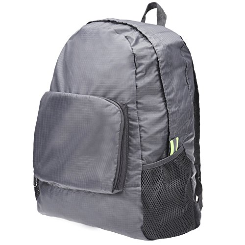 Fashion Laptop Daypacks Backpack,Realdo Unisex Durable Canvas Travel Student Folding Shoulder Bag Outdoor -