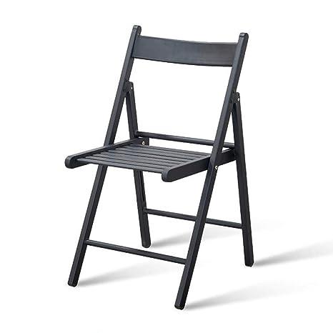 Amazon.com: Silla de comedor plegable, moderna, minimalista ...