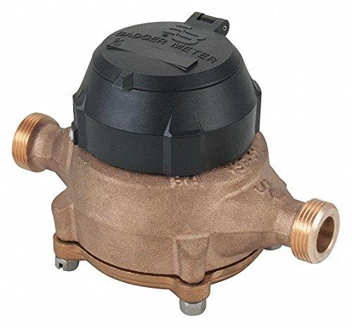 - Flowmeter, 25 gpm, 7-1/2in, 150psi, Noryl, SS