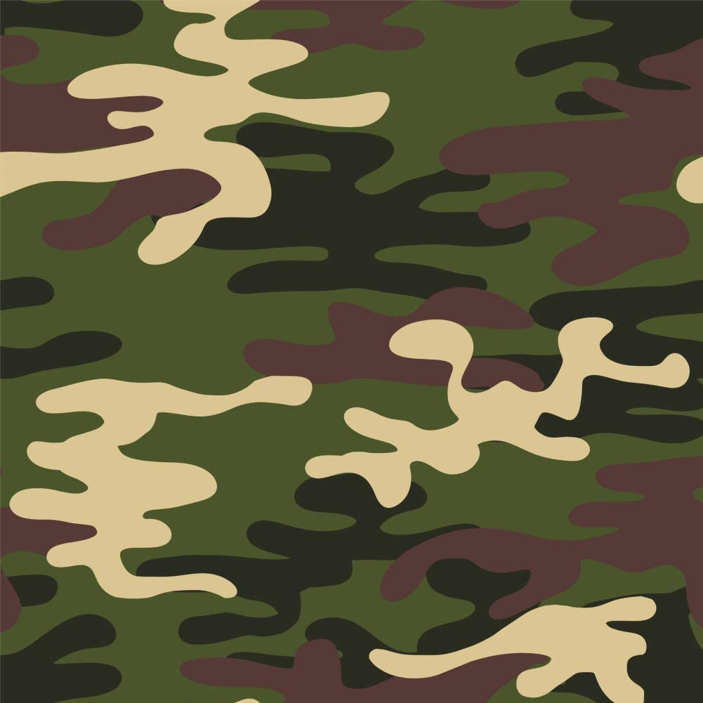 GRAPHICS & MORE Green Camouflage Premium Roll Gift Wrap Wrapping Paper