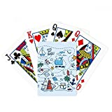 Sail Splash Travel Poker Playing Card Tabletop Board Game Gift
