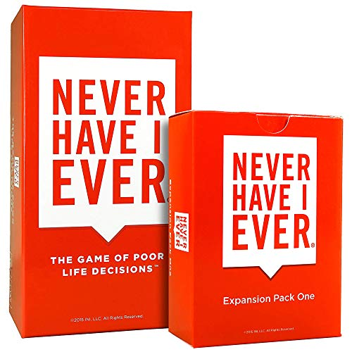Combo Pack: Never Have I Ever Card Game + Expansion Pack One