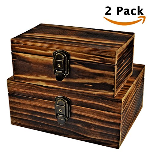 Wood Crates with Lid (Small) - 2