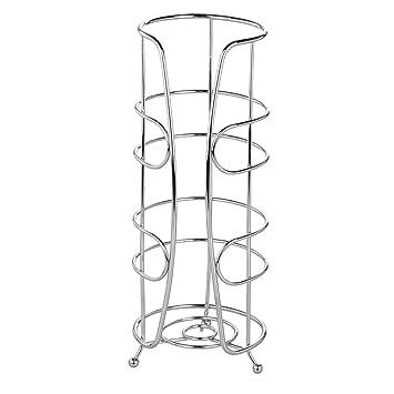 InterDesign Neo Toilettenpapierhalter | Eleganter WC Rollenhalter Für  Reserverollen | Freistehender Klorollenhalter Für 3 Ersatzrollen |