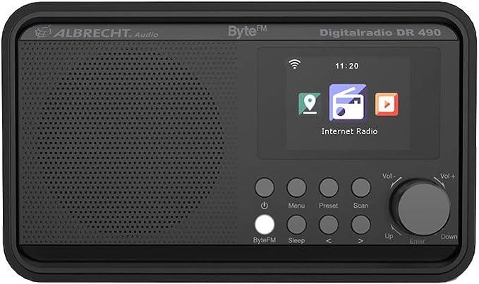 Albrecht DR490 ByteFM, Internet/Dab+/FM Radio con Pantalla a ...