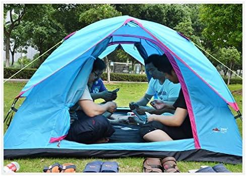 Deng Tienda de campaña al Aire Libre 3-4 Personas Salvaje Campamento de Pesca de la Familia Simple Auto-conducción al Aire Libre Carpas