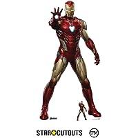 Star Cutouts Ltd-SC1314 Marvel Robert Downey Jr 185 cm de Altura Avengers Endgame cartón con Figura de Escritorio Gratis…