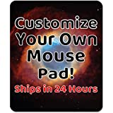 Personalized Mouse Pad – Add Pictures, Text, Logo or Art Design and Make Your own Custom Mousepad. Each Custom Mouse mat…