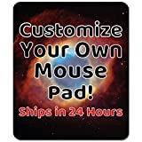 Personalized Mouse Pad – Add Pictures, Text, Logo Or Art Design and Make Your own Custom Mousepad. Each Custom Mouse mat Comes in a Colorful Gift Bag. Personalized Your Gaming Mousepad.
