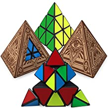 Cubinati Pyraminx Speed Cube: Ultimate Triangle Puzzle Toy for Kids and Adults