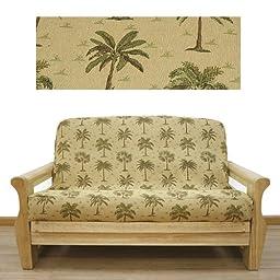 Desert Palm Futon Cover Full 622