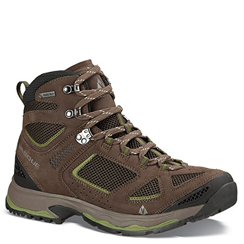 Vasque Men's Breeze III GTX Waterproof Hiking Boots (Black Olive/Pesto, 13 W US)