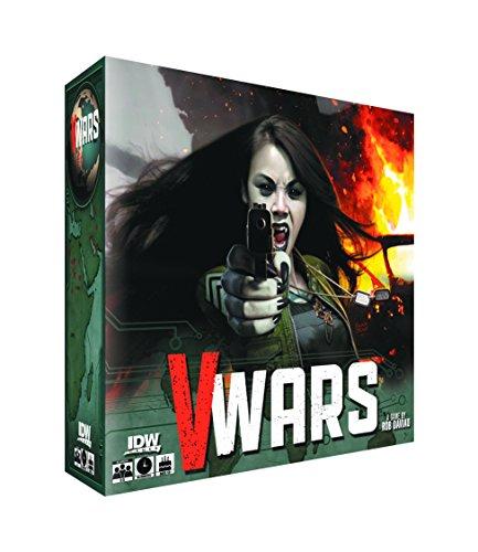 IDW Juegos v-wars sangre y fuego Junta Juego