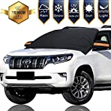 Chanvi Windshield Cover Snow Magnetic Shade Ice Frost Rain Resistant, Waterproof Windproof Dustproof Outdoor Car Covers