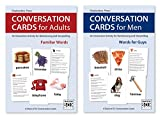 Conversation Cards – Two-Deck Set – Reminiscence Activity for Alzheimer's / Dementia / Memory Loss Patients and Caregivers