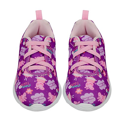 Peppa Pig Girls Sneakers, Size 8