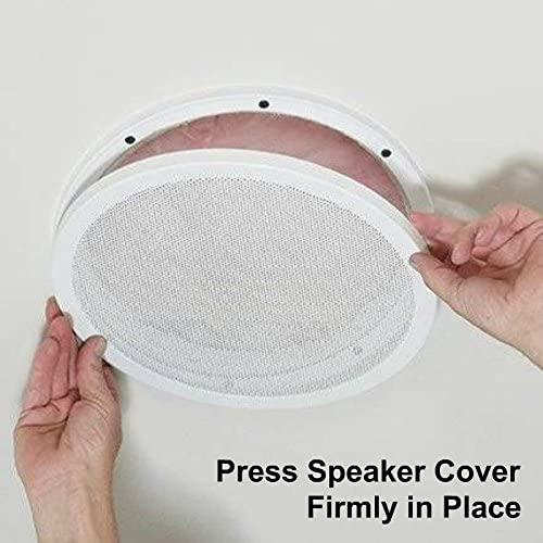 Pair Reliable Hardware Company RH-4002-12-2-A Mount 12 Speaker Cover