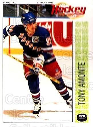 Amazon.com  (CI) Tony Amonte Hockey Card 1992-93 Panini Stickers ... 019c96df3
