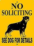ROTTWEILER DOG SIGN 9