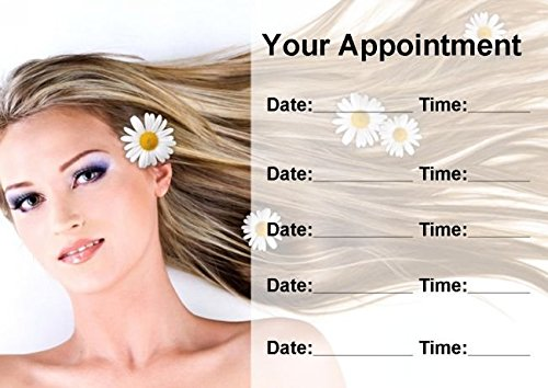 Salon Hair Beauty Spa Massage Nails Personalized Appointment Cards