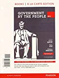 Government by the People, Brief 2012 Election Edition, Books a la Carte Plus NEW MyPoliSciLab with EText -- Access Card Package, Magleby, David B. and Light, Paul C., 0205936202