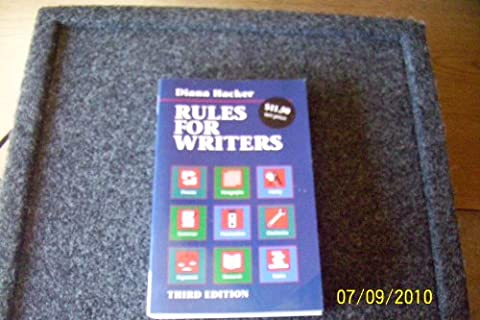 Rules for Writers (Rules For Writers 7th)