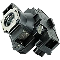 Kingoo Excellent Projector Lamp For EPSON PowerLite 740c PowerLite 745c PowerLite 750c PowerLite 755c PowerLite 760c PowerLite 765c Replacement projector Lamp Bulb with Housing