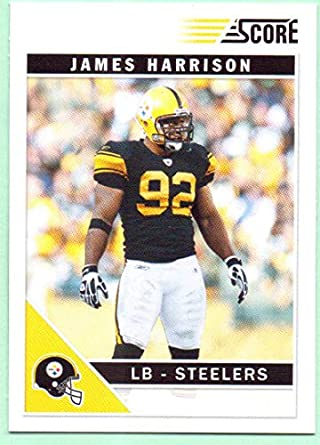 reputable site 0cc67 55aec James Harrison 2011 Score #231 - Pittsburgh Steelers at ...