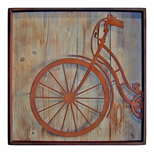 (Cheung's FP-3115A Metal Square Bicycle Front Wall Art| 22