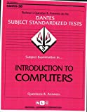 Introduction to Computers, Jack Rudman, 083736650X