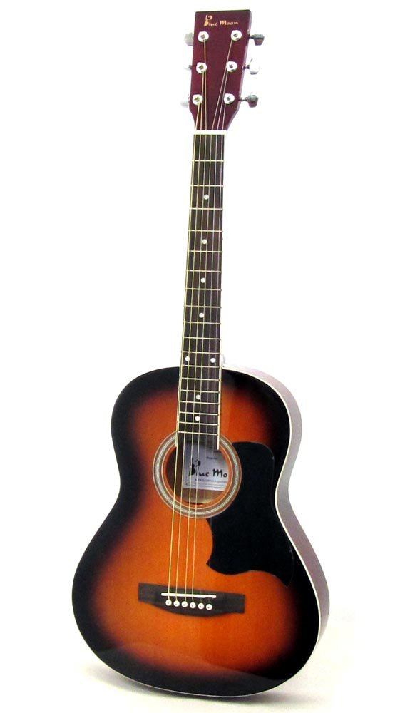 Blue Moon Music BG-14-V 3/4 Guitar - Sunburst